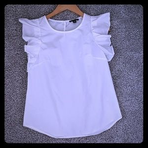 White JCrew Factory top